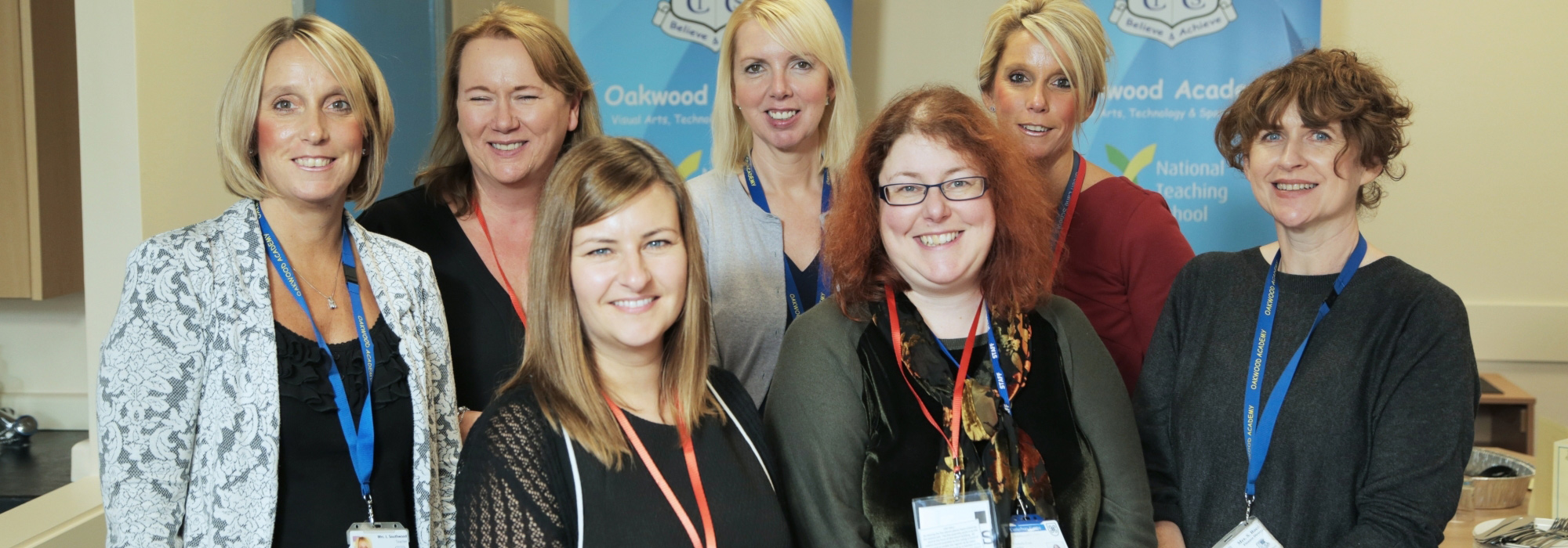 Staff at Oakwood Academy National Teaching School